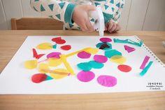 마니아 컬럼(육아) - 여성포털이지데이 Paper Crafts For Kids, Diy And Crafts, Baby Art, Paper Folding, Teaching Materials, Art Education, Kids Playing, Art For Kids, Activities For Kids