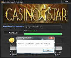 Your searched CasinoStar Facebook Hack Cheat: working on iOS and Android. The CasinoStar Facebook Hack Cheat can be activated from Windows and Mac computers.