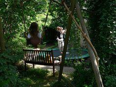 Trampoline Garden Placement
