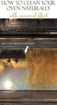 How to clean your ov