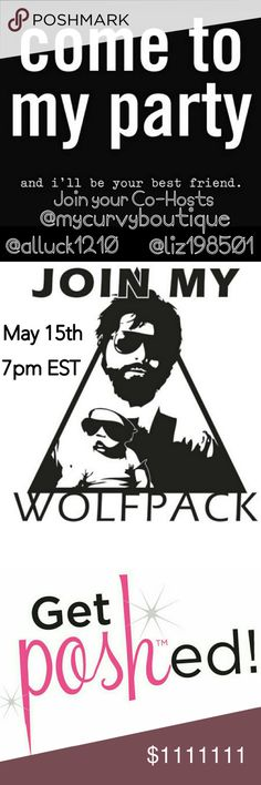 PARTY TIME!! MAY 15TH 7PM mst HOSTING WITH MY PFF'S!! LET'S DO THIS!!!! THEME TO BE ANNOUNCED LOOKING FOR A HOST PICK? COMPLIANT CLOSETS ONLY Party! Swim
