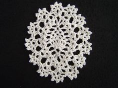 Pineapple oval motif. (Crochet a little)