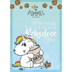 "Pummeleinhorn - Sammelblock, DIN A5, Nr. 4 ""Keksdose"