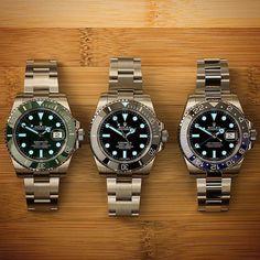 Triple Lume Credit: @WristMachine #Rolex #Rolexero by rolextimepieces