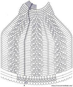 Вязаные абажуры
