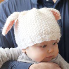 Little Lamb Hat - Free Pattern
