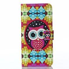 diamanter ugle mønster pu lær full dekning med kort og stå t... – NOK kr. 61 Sony Xperia Z3, Owl Patterns, Owls, Pu Leather, Phone Cases, Diamond, Cover, Cards, Owl