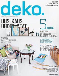 DEKO'S PRINT MAGAZINE 8 13 OUT NOW!