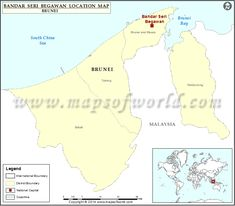 Where is Bandar Seri Begawan