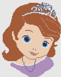 Sofia the First Afghan, C2C Graph | Craftsy
