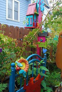 paradis express Ginny Davis's garden