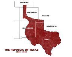 The Republic of Texas (1836-1845)