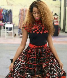 Trendy ideas on latest african fashion look 227 African Lace, African Wear, African Attire, African Fabric, Ankara Fabric, African Print Dresses, African Dresses For Women, African Fashion Dresses, Fashion Outfits