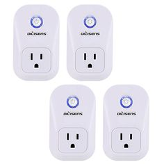 Smart Plug, Alexa Socket Outlet DILISENS Wireless Timing Smart Switch Remote Control Your Smart Home Devices, Wi-FI, No Hub Required, Works with Amazon Echo / Google Home- UL Listed (4 Pack ) #7