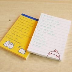 """""""South Korea Shopping 'official website defines molang potatoes with rabbit Notepad Scratch Pad / note paper / N times posted - Taobao"""
