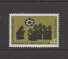 Australian Decimal Stamps 1966 -- 4c Christmas 1966