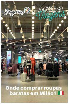 Primark: o lugar mais barato para comprar roupas na Itália. Confira todas as dicas na matéria especial! #moda #primark #europa #italia #milão
