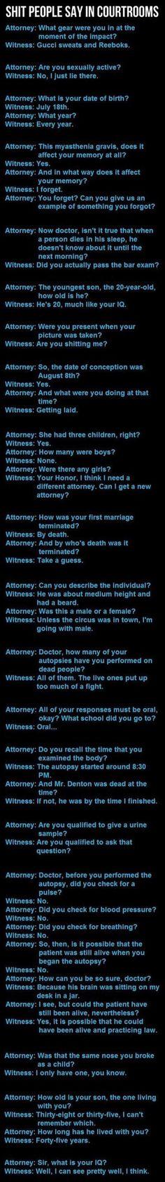 Attorneys are idiots...