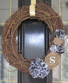 A wreath for any season...with different colors I think...