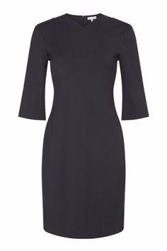Rodor Salmon Leather Collar Dress  #Silkarmour #Corporatefashion #Women #Business #fashion #Sophisticated #luxury #workoutfit