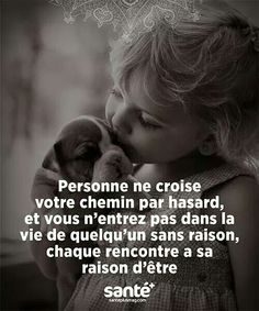 No one crosses your path by luck, and you never enter someone's life without any reason. Every meeting has its reason to exist. French Words, French Quotes, Words Quotes, Life Quotes, Sayings, Happy Quotes, Wisdom Quotes, Favorite Quotes, Best Quotes