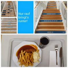 Motivierende Treppenstufen bei der Techniker Krankenkasse - Healthy Workplace
