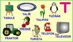 ABECEDA PÍSMENO T Alphabet, Education, School, Books, Languages, Autism, Livros, Alpha Bet, Livres