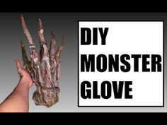 How to make a Monster Glove prop for f****** CHEAP! Farm Costumes, Diy Costumes, Costume Ideas, Monster Gloves, Monster Hands, Hand Gloves, Cosplay Diy, Fx Makeup, Halloween Makeup