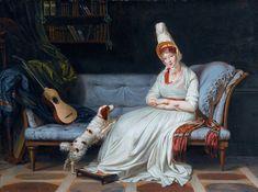 Louis Gauffier PORTRAIT OF ELIZABETH, LADY WEBSTER, LATER LADY HOLLAND,