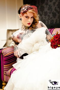Rock Chic Wedding Inspiration – Make Me Your Rock and Roll Bride