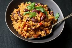 Easy Spanish Quinoa Pilaf with Chorizo | Simple Gluten-Free Recipes