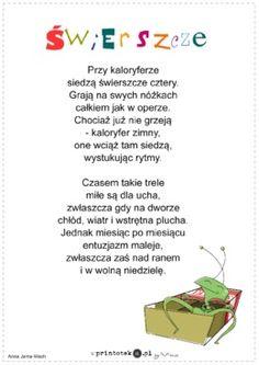 Świerszcze - wiersz - Printoteka.pl
