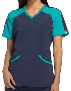 Check our huge collection of medical scrubs, nursing uniforms, and accessories. Get best prices on branded nursing scrubs online! Scrubs Uniform, Medical Scrubs, Nurse Life, Caregiver, V Neck Tops, Cherokee, Color Blocking, Athletic Tank Tops, Cold Shoulder Dress