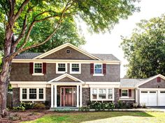 Case Design/Remodeling Inc. gives back to the community by granting a well-deserving couple an exterior home makeover. written by Ellie Lawrence © Case Design/Remodeling Inc., © Ply Gem