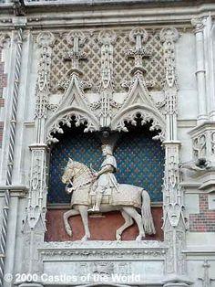 Detail from Chateau de Blois ~ Loire