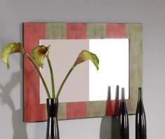 Miroirs en bois: modèle NICE COLORS.