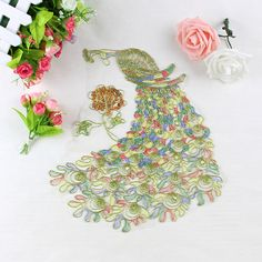 3D handmade sew on patches for clothing  They are rhinestone beaded sequins patches by skilled worker. See more here https://www.aliexpress.com/store/group/Patches/1701313_511976559.html?spm=2114.12010608.0.0.X1P87u