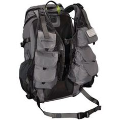 Patagonia Sweet Pack Vest: For day hikes and tailored to hold fishing gear too. Badass.