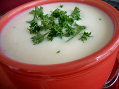 The Best Cauliflower Soup Ever