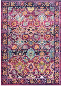nuLoom Persian Leilani Machine-Made Synthetic Transitional Rug