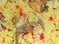 Cuscus cu ciuperci Raw Vegan Recipes, Healthy Diet Recipes, Healthy Meal Prep, Baby Food Recipes, Vegetarian Recipes, Cooking Recipes, Good Food, Yummy Food, Romanian Food