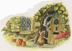 Foxwood Tales by Cynthia and Brian Paterson ・ Foxwood Tales Books Illustrations Illustrators, Classic Art, Animal Art, Watercolor Animals, Postcard Art, Painting, Illustration Art, Animal Illustration, Art World