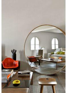 10x ronde spiegels in huis