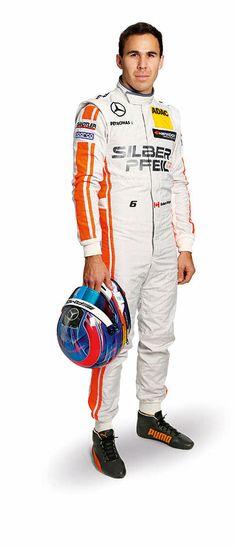 Robert Wickens fährt 2016 für Mercedes-AMG DTM Team HWA in der DTM