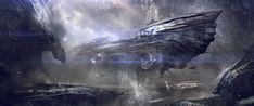 ArtStation - Spaceship, Juan Pablo Roldan