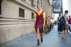 Some of the best street style seen during Fashion Weeks in London, Milan and Paris.