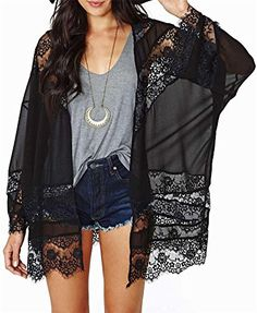 Women Chiffon Kimono Coat - LATH.PIN Long Sleeve Hollow S... http://smile.amazon.com/dp/B01ER8YCBS/ref=cm_sw_r_pi_dp_GXyuxb12G17GN