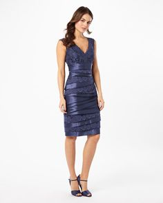 03379b5ae3bfb7 Buy Damask Phase Eight Tamara Layered Dress from our Women s Dresses range  at John Lewis   Partners.