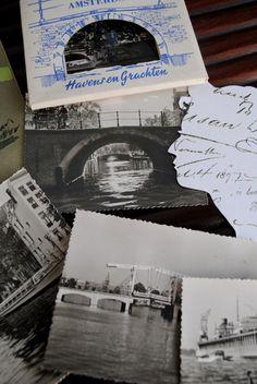 vintage cartões postais de Amsterdam - Holanda: