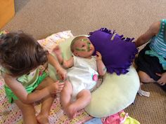 """lol the girl says never leave your four month old alone with your curious """"doctor"""" child lol"""
